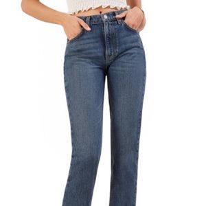 Reformation • Liza High Rise Straight Jeans